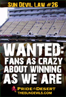 wanted:fans as crazy about winning as we are